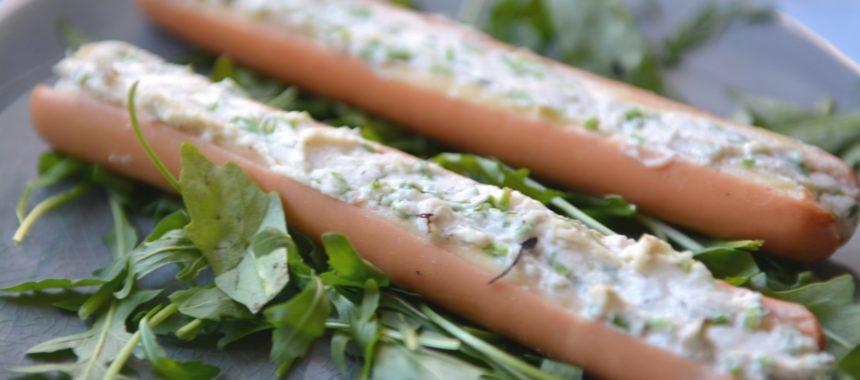 Parówki zapiekane z serami