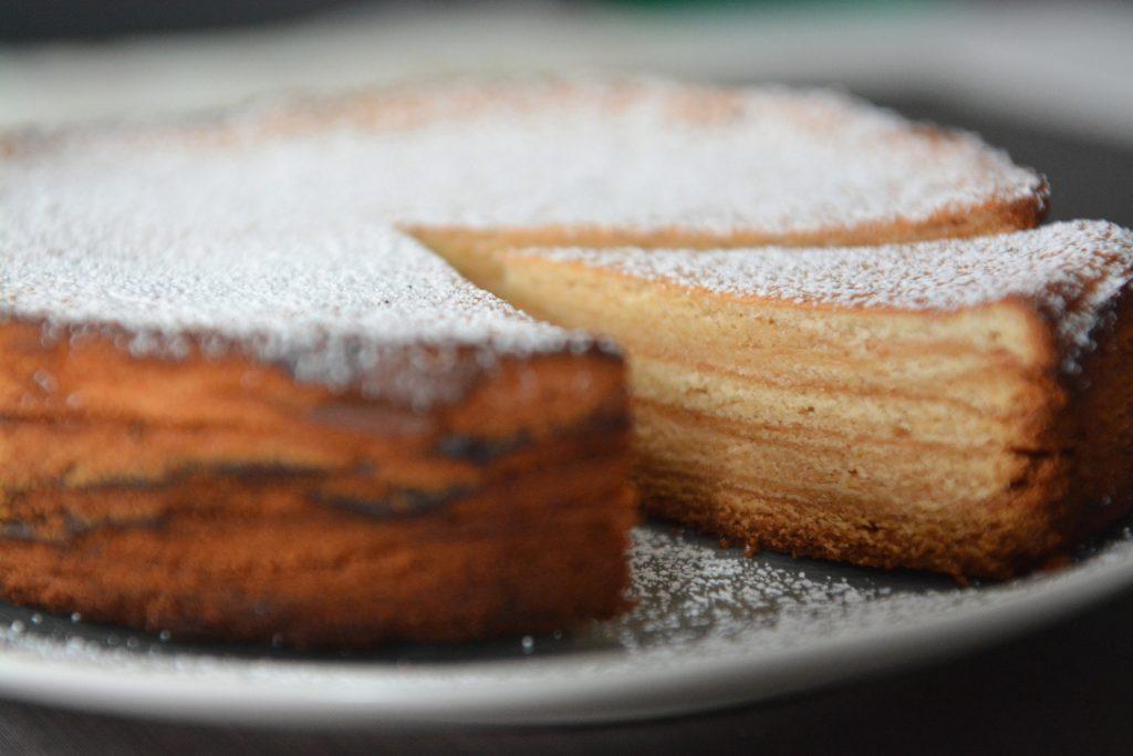 Domowy sękacz z piekarnika
