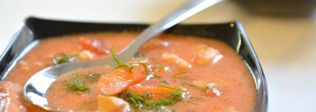 Tradycyjna zupa pomidorowa najlepsza