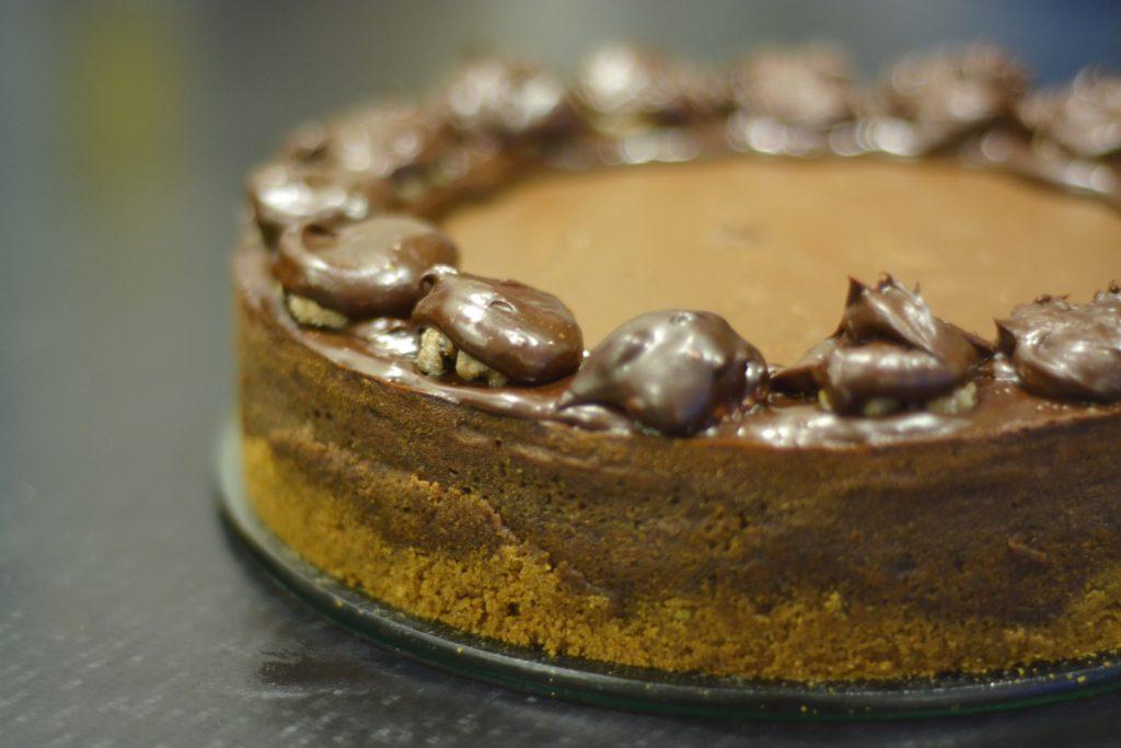 sernik czekoladowy mazisty