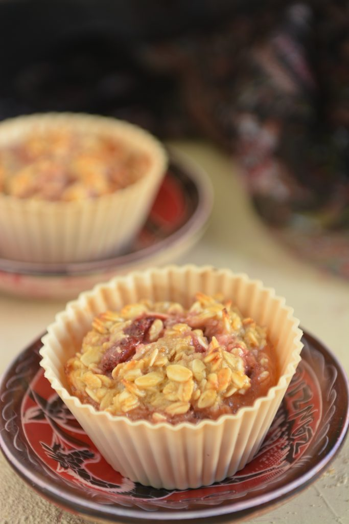 Muffinki z płatków owsianych bez maki i tluszczu