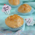 Muffinki morelowo pomarańczowe