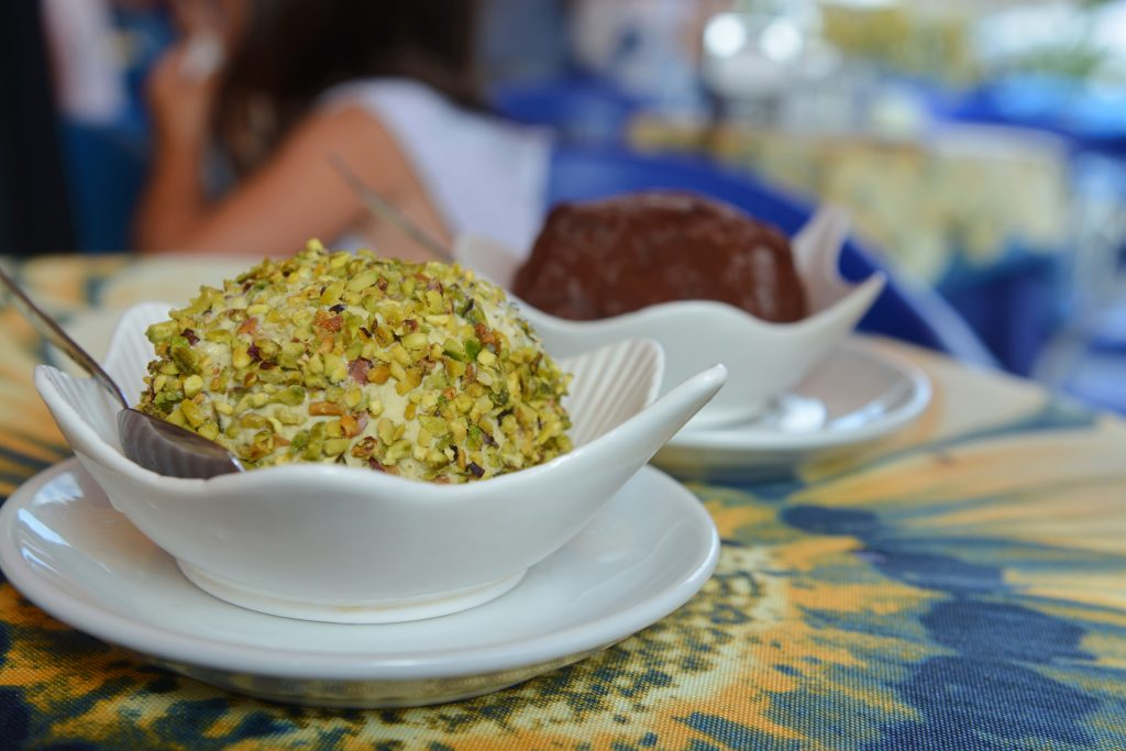 tartufo smaki pistacjowe
