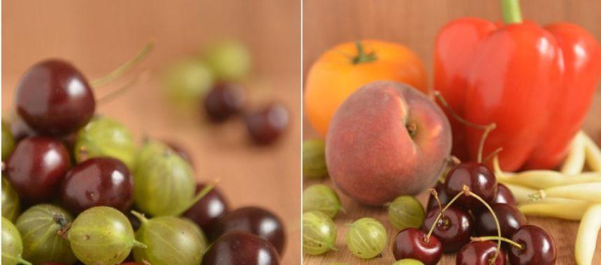 Sezon na zielone czyli kiedy które owoce i warzywa
