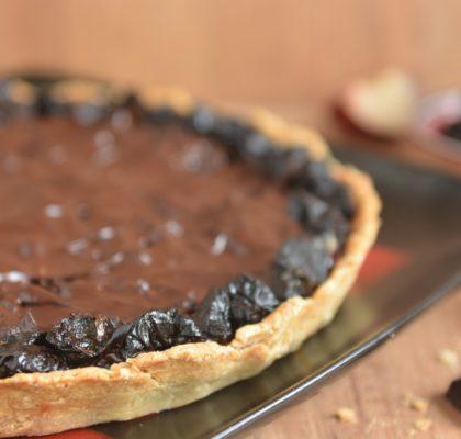 Tarta śliwka w czekoladzie