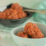 Mięsno – ryżowe pulpeciki w sosie pomidorowym