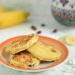 Bananowe placki serowe 4 składnikowe