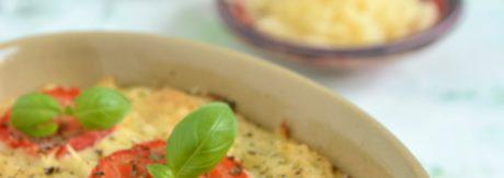 Mięsna zapiekanka z ziemniakami i winem