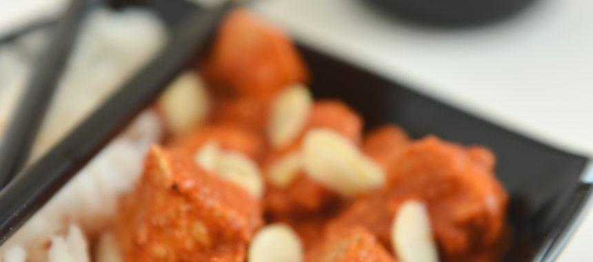 Kurczak w orientalnym sosie