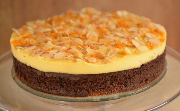 czekoladowo migdałowe Ciasto Amaretti