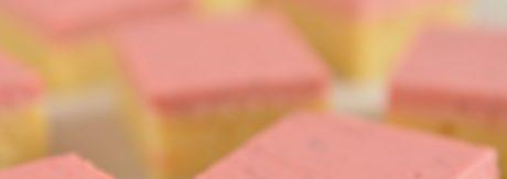 Ciasto cytrynowe z musem truskawkowym