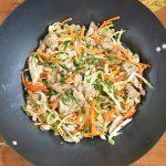 Polędwiczka z warzywami po tajsku