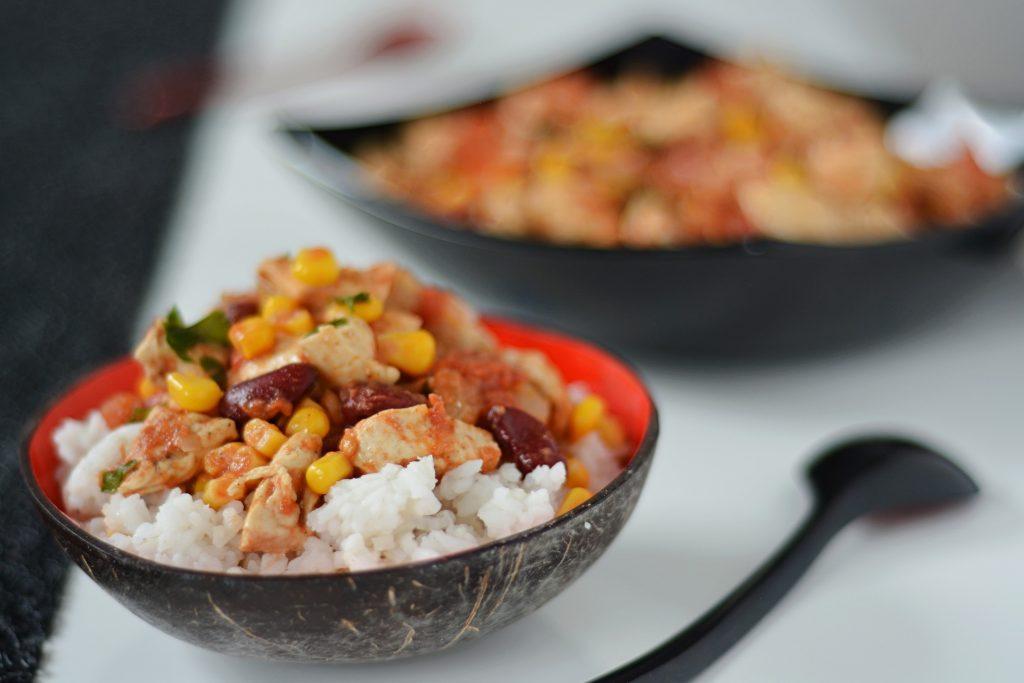 Szybki ryż po meksykańsku