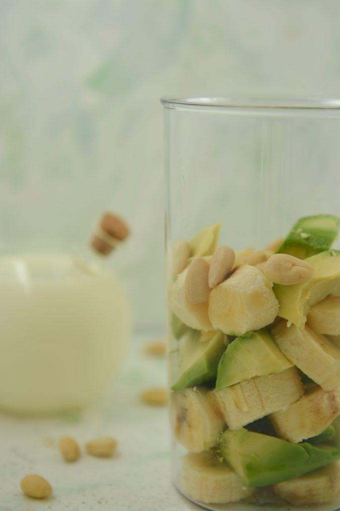 smoothie awokado banan