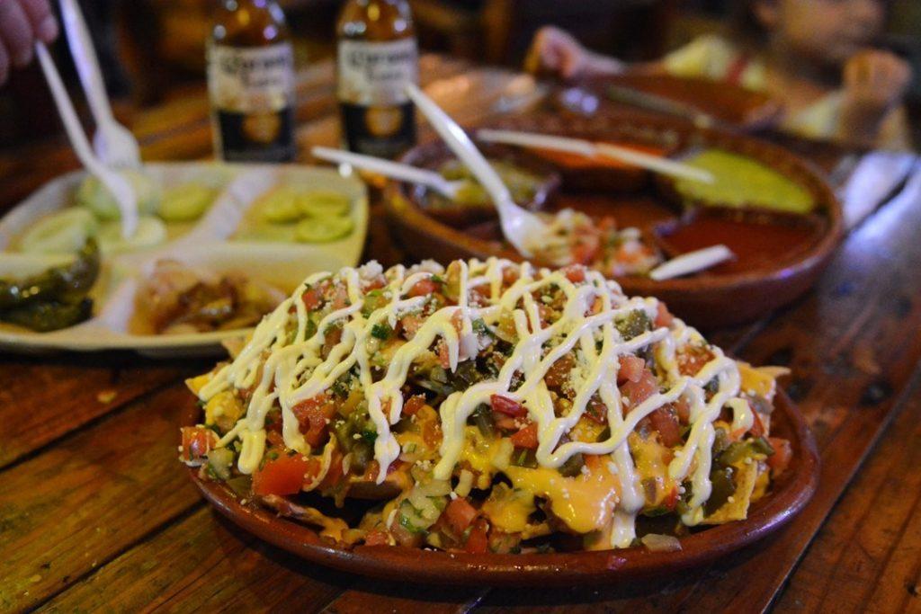 nachosy meksykańskie