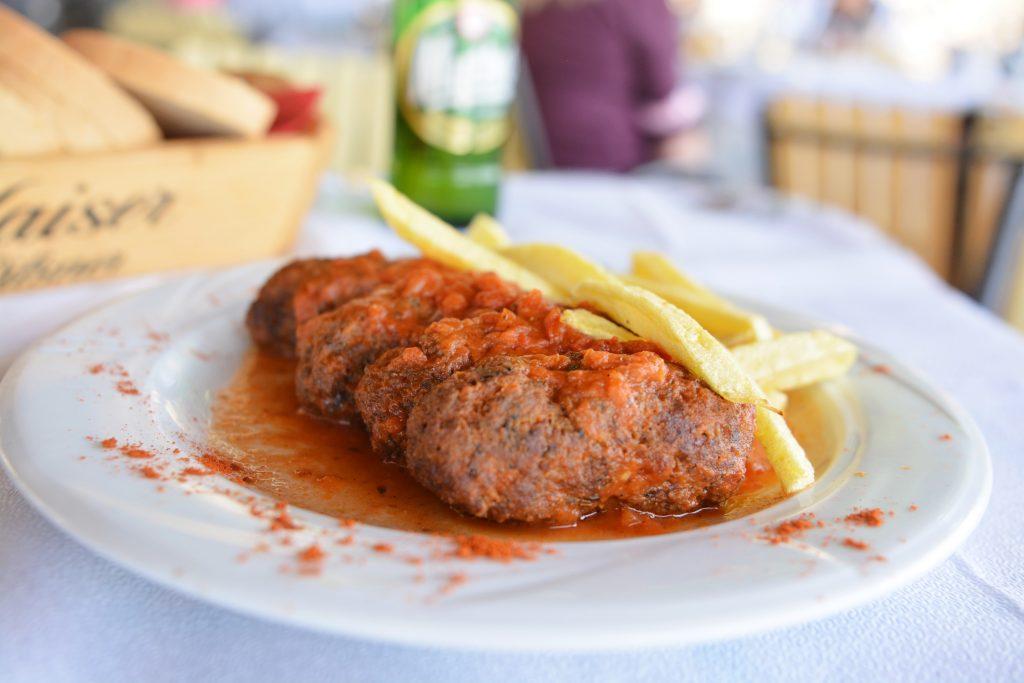 Bifteki greckie