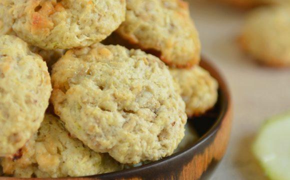 Owsiane ciasteczka z cukinii