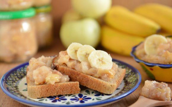 Dżem bananowy z jabłkiem