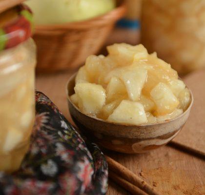 Dżem z jabłek z cynamonem