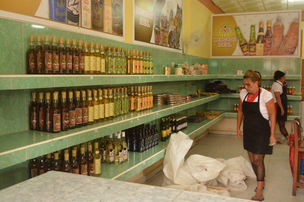 alkohol na Kubie