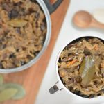 Kapusta wigilijna z grzybami – smak świąt