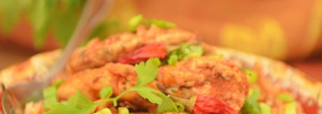 hot kurczak w sosie pomidorowym