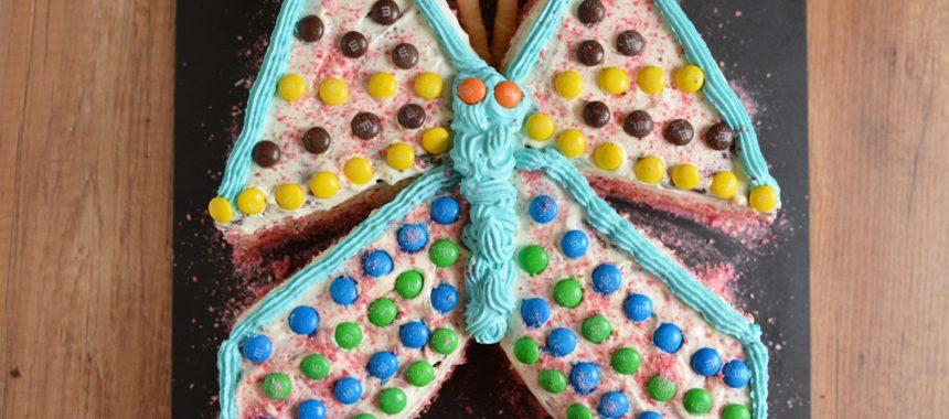 Tort dla dziewczynki – tort motylek