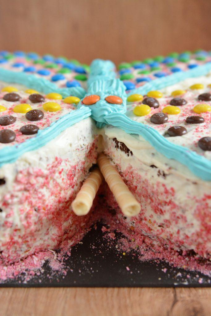 tort motylek dla dziecka