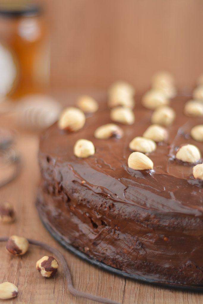 Ciasto Marysieńka z obłędną bezą orzechową
