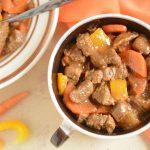 Miękki i delikatny gulasz wołowy