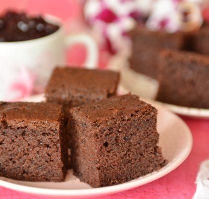 Łatwe szybkie ciasto czekoladowe