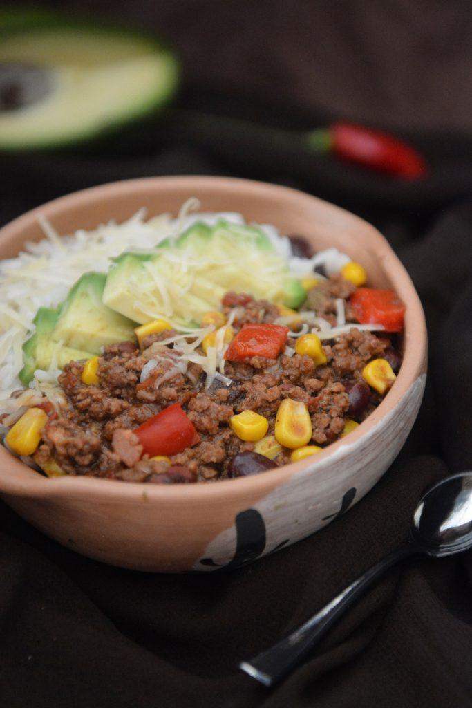 Chilli con carne przepis jak w Meksyku