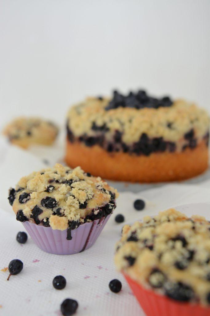 ciasto muffinki drożdżowe bez wyrabiania