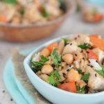 Ryż z kurczakiem w sosie orzechowym – obiad w 15 min
