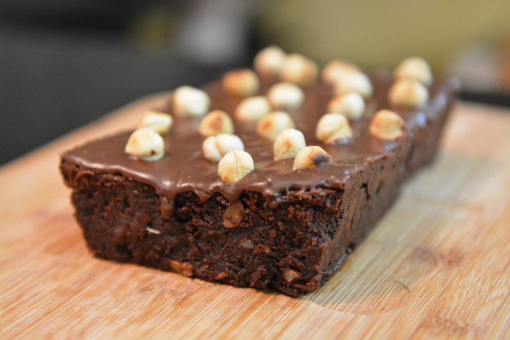 brownie z nutellą
