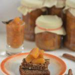 Dżem brzoskwiniowy z wanilią i cynamonem