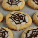 Ciasteczka na Halloween – sieć pająka