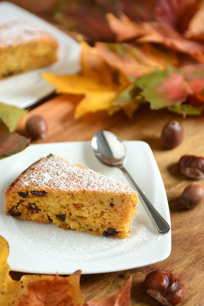wilgotne ciasto marchewkowe na oleju kokosowym