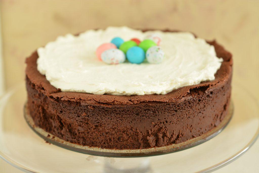 Ciasto truflowe krem cytrynowy