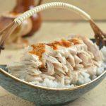 Kurczak po czerkiesku z sosem orzechowym