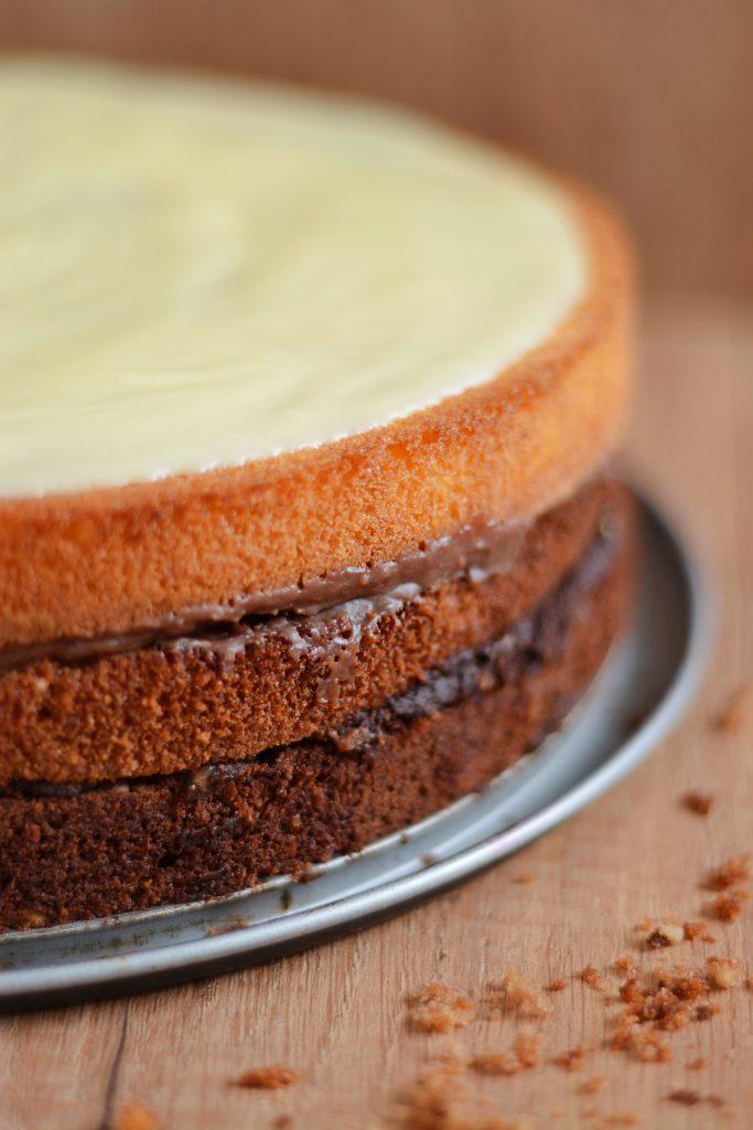 Tort czekoladowe trio