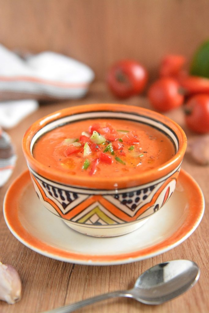 gazpacho pomidorowe