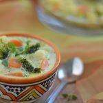 zupa jarzynowa z ziemniakami i brokułem