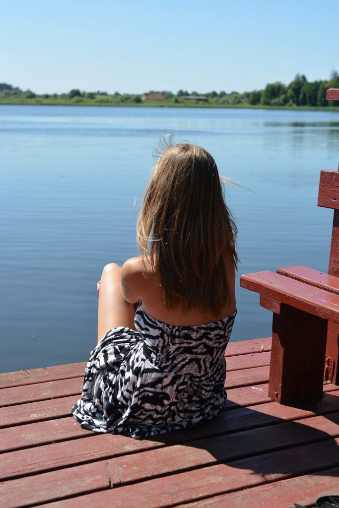 relaks nad jeziorem