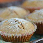 Muffinki dyniowe z żurawiną suszoną