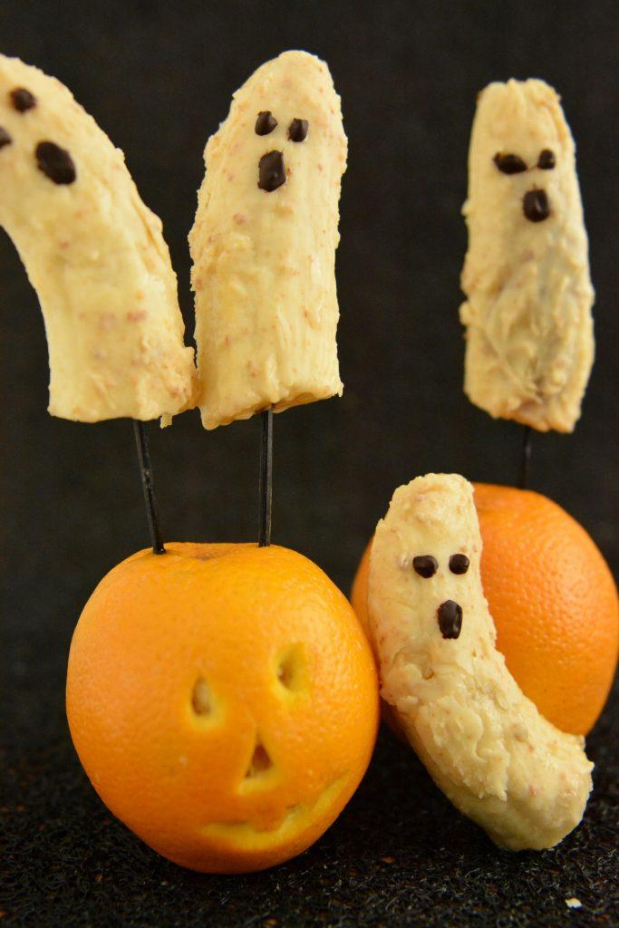 Pomysły na Halloween Bananowe duszki
