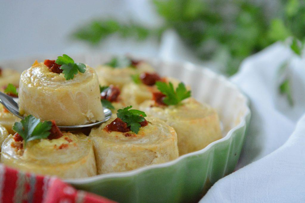 ciasto serowe roladki serowe