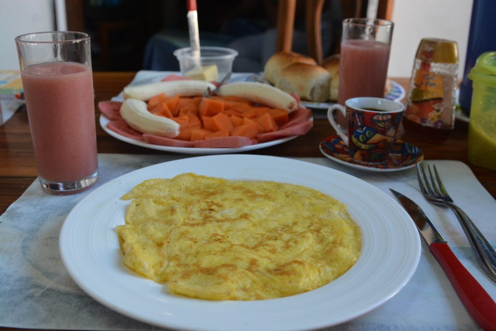 śniadania na kubie