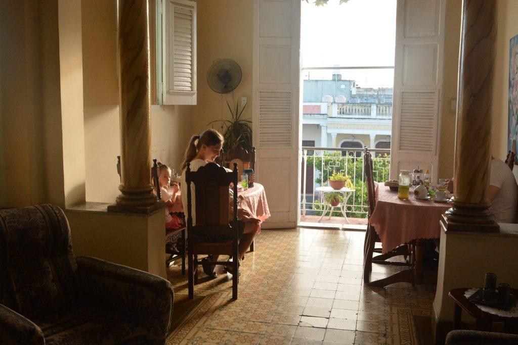 śniadanie w casa particulares