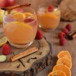 Owocowy grzaniec bezalkoholowy